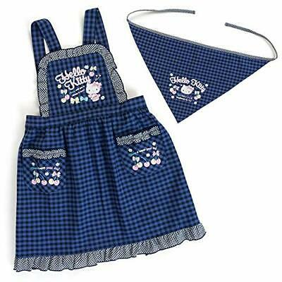 Hello Kitty sling with kids apron (check) 120cm