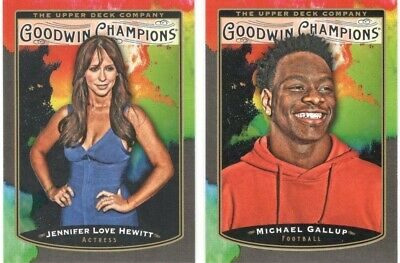 2019 Ud Goodwin Champion Splash Of Color Cards U Pick Free Combined Shipping!!