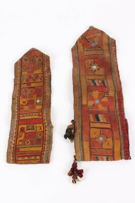 Two Antique Laos Village Textiles