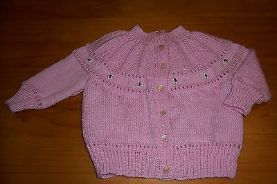 Girls Embroidered Cardigan