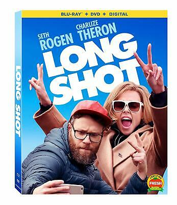 Long Shot  Blu-ray+Case+Slip Cover-NO DVD or Digital Included