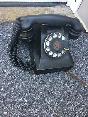 Antique Western Electric  Model 302 Prewar rotary telephone