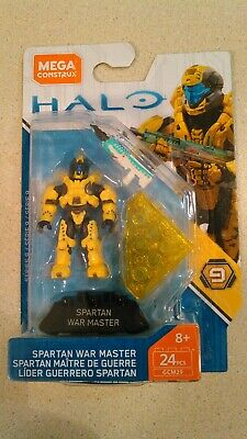 Challenger series Mega Construx HALO SPARTAN WAR MASTER in Package