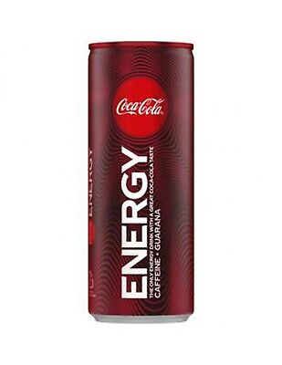 Coca Cola Energy Soft Drink Can 250ml x 24