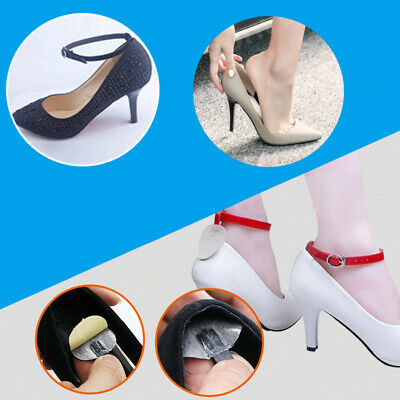2PCS Shoes Strap PU Shoe Belt Strap Band For Holding Loose High Heel Accessory