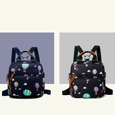Fashion Backpack Large Capacity Travel Out Mother Bag Baby Diaper Bag D