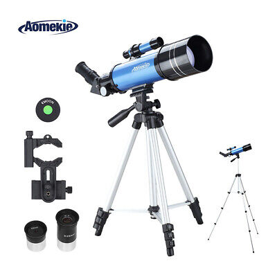 40070 Telescope with Adjustable High Tripod Phone Adapter 16X/66X for Beginner