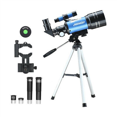 70300 Telescope for Beginner with Tripod Phone Adapter Moon Watching Kid Gift