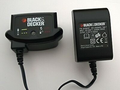 Black & Decker Chargeur de Batterie Alimentation Perceuse ASL148 ASL186 ASL188