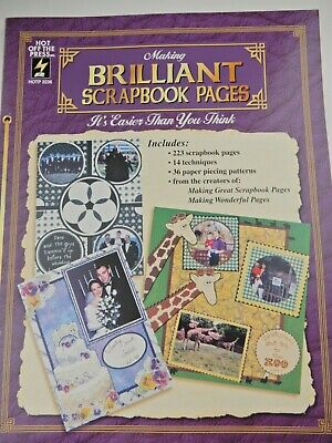 Making Brilliant Scrapbook Pages: It's Easier Than You Think, Paperback