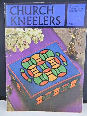 Church Kneelers Coats Sewing Group Book No. 1058 Needlework Tapestry