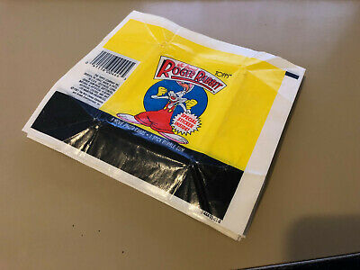 Roger Rabbit - Wax Pack Card Wrappers - BULK LOT of 50 - Topps 1987