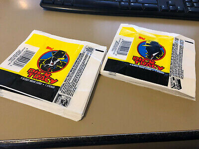 Dick Tracy - Wax Pack Card Wrappers - BULK LOT of 50 - 1990 Topps