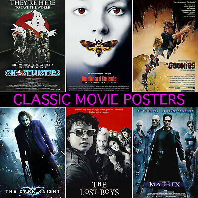 Classic Movie Posters - A1, A2, A3, A4, A5