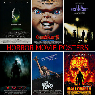 Horror Thriller Movie Posters - A1, A2, A3, A4, A5