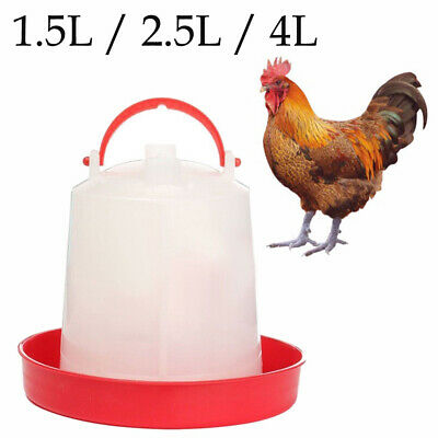 AUTOMATIC CHICKEN FEEDER Drinker Poultry Chick Hen Quail