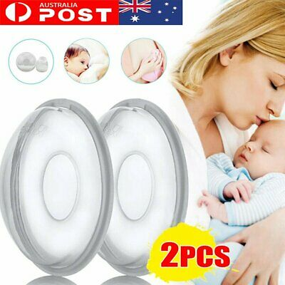 2Pcs Breast Milk Collection Shell Breast Saver for Travel Daily Working Moms MN