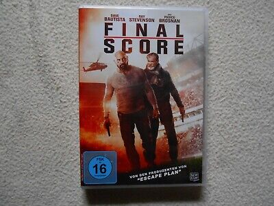 Final Score DVD Pierce Brosnan