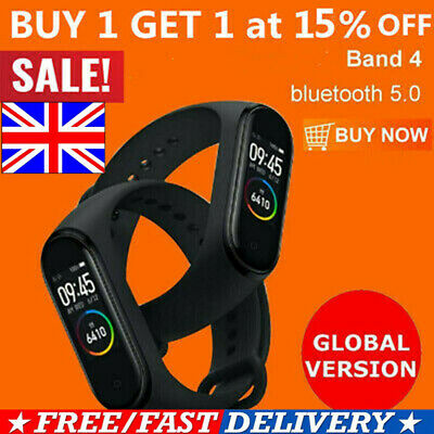 Global Version bluetooth Smart Watch  Band 4 Amoled Sport Wristband 2019