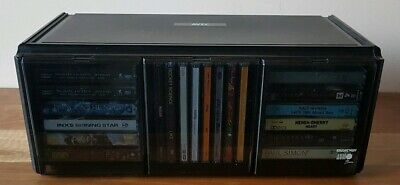 Vintage Collectable AVEC Cassette CD Storage Case Audi Bank Retro