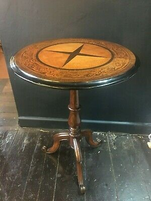 Victorian Rosewood Circular Tripod Side Table