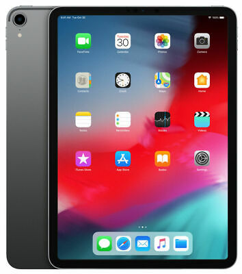 "Apple iPad Pro 64GB, WiFi 11"" Tablet - Space Grau"