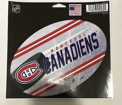 """Montreal Canadiens Sticker Decal Sheet 5.5x3.5"""" Official Licensed Product NHL"""