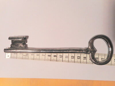 Key Antique Wrought Iron 18 cm 0 K 125 Key 18 19 Th Century Old Key 4