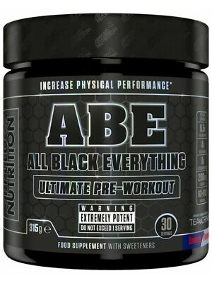 Applied Nutrition ABE All Black Everything Ultimate Energy Pump Pre-Workout 315g