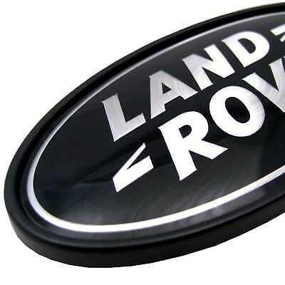 Range Rover L405 SUPERCHARGED black+silver rear LAND ROVER badge upgrade stealth