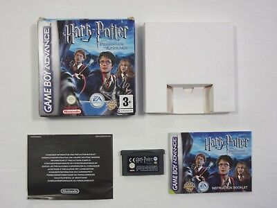 Harry Potter and the Prisoner of Azkaban Game Boy Advance GBA Boxed