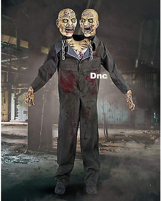 Halloween Life Size Double Trouble Zombie Connection Haunted House Prop IN STOCK