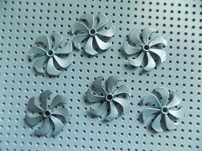 LEGO  LEGOS One  NEW  Propeller 7 Blade 6 Diameter  FLAT SILVER