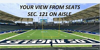 e9b3dd29 2 TICKETS PACKERS vs LA Chargers in LA 11/3/19 *Price Is TOTAL ...