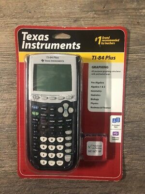 TEXAS INSTRUMENTS TI-84 PLUS Graphing Calculator New in Box - FAST SHIPPING