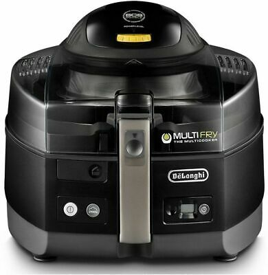 Delonghi Large Capacity Multifry Air Fryer Multicooker Fh1363 Black New