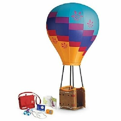 American Girl Doll Saige's HOT AIR BALLOON SET for Saige COMPLETE NEW IN BOX