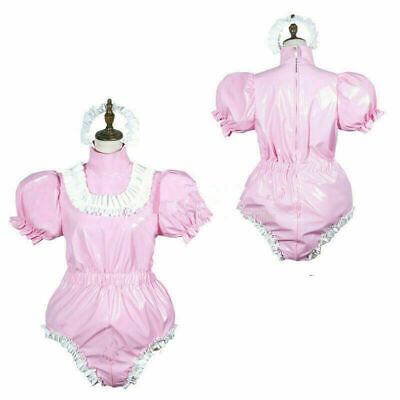NEW !Adult sissy baby PVC Romper vinyl Unisex tailor-made free shipping