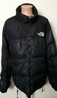 d6eaf8c96 MENS NORTH FACE Nuptse 700 Down Blue Zip Puffer Sweater Hooded ...