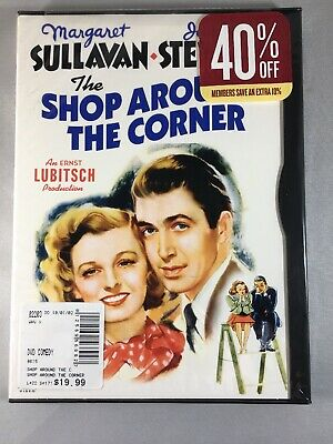 The Shop Around the Corner (DVD, 2002)Snapcase Brand New Factory Sealed Rare OOP