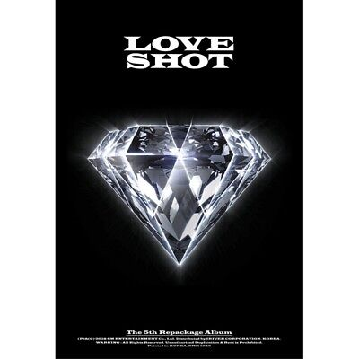 EXO [LOVE SHOT] 5th Repackage Album LOVE VER. Sealed CD+Booklet+PhotoCard K-POP