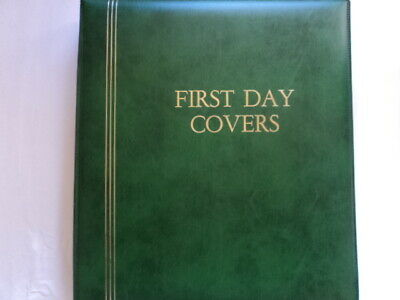 Cumberland FDC First day cover album 20 double-sided 2 pocket sheets 80 covers