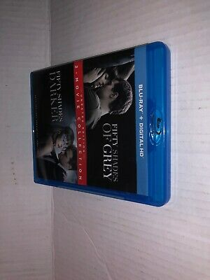 Fifty Shades Of Grey / Fifty Shades Darker 2-MOVIE Collection Blu-Ray Dvd