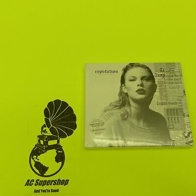 Taylor Swift Reputation Cd Target Exclusive Magazine