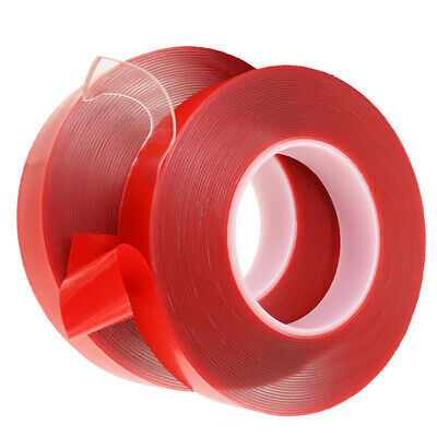 6 8 10 15 20mm Strong Double Sided Car/Vehicle Clear Adhesive Acrylic Foam Tape
