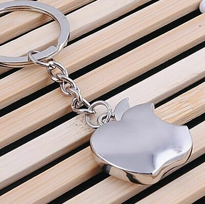 new fashion Apple logo Metal Key Chain  Apple Keychain Key Ring