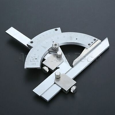 Stainless Steel 0-320 Degree Precision Angle Arm Measuring Finder Bevel Tools
