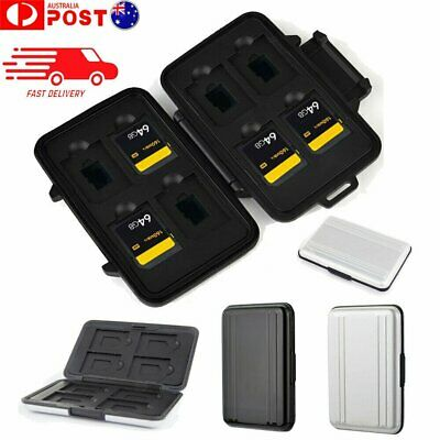 Waterproof Memory Card Case Storage Box Holder for Micro SD SDXC SDHC TF Card MN