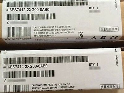 1PC NEW IN BOX Siemens 6ES7412-2XG00-0AB0 6ES7 412-2XG00-0AB0 #OH09