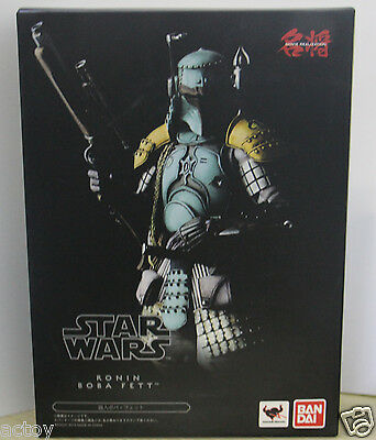 Movie Realization Star Wars Ronin Boba Fett Action Figures Box Packed